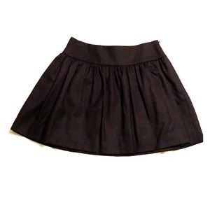 Bird by Juicy Couture Black Wool Skirt NWOT